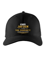 JAYDEN - THING YOU WOULDNT UNDERSTAND Embroidered Hat front