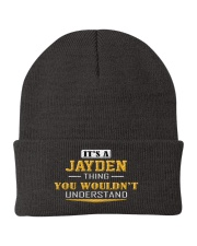 JAYDEN - THING YOU WOULDNT UNDERSTAND Knit Beanie tile