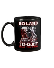 Roland - IDGAF WHAT YOU THINK M003 Mug back
