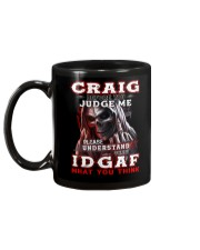 Craig - IDGAF WHAT YOU THINK M003 Mug back