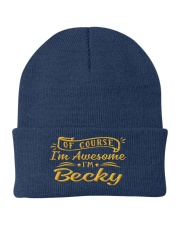 Becky - Im awesome Knit Beanie thumbnail