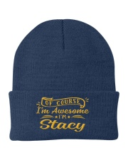 Stacy - Im awesome Knit Beanie thumbnail