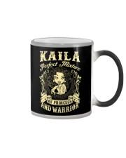 PRINCESS AND WARRIOR - Kaila Color Changing Mug thumbnail