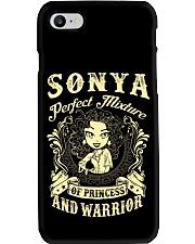 PRINCESS AND WARRIOR - SONYA Phone Case thumbnail