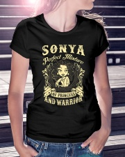PRINCESS AND WARRIOR - SONYA Ladies T-Shirt lifestyle-women-crewneck-front-7