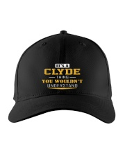 Clyde - Thing You Wouldnt Understand Embroidered Hat front
