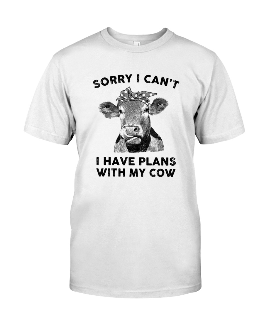 I have plans with cow Classic T-Shirt