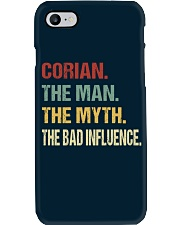 Corian The man The myth The bad influence Phone Case thumbnail