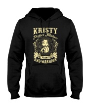PRINCESS AND WARRIOR - Kristy Hooded Sweatshirt thumbnail