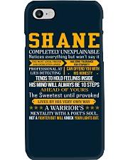 Shane - Completely Unexplainable Phone Case thumbnail