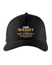 WRIGHT - Thing You Wouldnt Understand Embroidered Hat front
