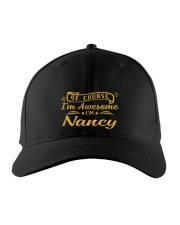 nancy - Im awesome Embroidered Hat front