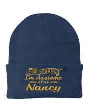 nancy - Im awesome Knit Beanie tile