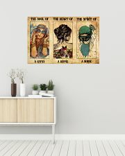 SOUL OF GYPSY HEART OF A HIPPIE SPIRIT OF A NURSE 36x24 Poster poster-landscape-36x24-lifestyle-01