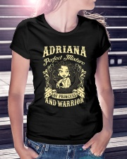 PRINCESS AND WARRIOR - ADRIANA Ladies T-Shirt lifestyle-women-crewneck-front-7