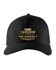 CAMERON - THING YOU WOULDNT UNDERSTAND Embroidered Hat front