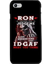 Ron - IDGAF WHAT YOU THINK M003 Phone Case thumbnail