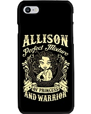 PRINCESS AND WARRIOR - Allison Phone Case thumbnail