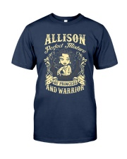 PRINCESS AND WARRIOR - Allison Classic T-Shirt thumbnail