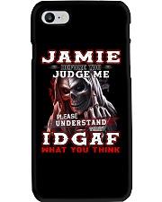 Jamie - IDGAF WHAT YOU THINK  Phone Case thumbnail