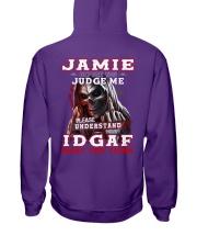 Jamie - IDGAF WHAT YOU THINK  Hooded Sweatshirt tile