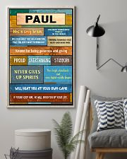 Paul - PT01 24x36 Poster lifestyle-poster-1