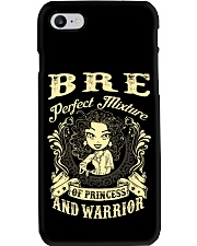 PRINCESS AND WARRIOR - BRE Phone Case tile