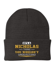 NICHOLAS - THING YOU WOULDNT UNDERSTAND Knit Beanie thumbnail