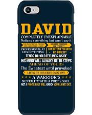 David - Completely Unexplainable Phone Case thumbnail