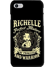 PRINCESS AND WARRIOR - Richelle Phone Case thumbnail