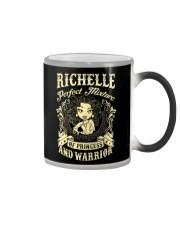 PRINCESS AND WARRIOR - Richelle Color Changing Mug thumbnail