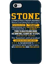Stone - Completely Unexplainable Phone Case thumbnail