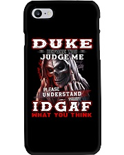 Duke - IDGAF WHAT YOU THINK M003 Phone Case thumbnail