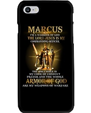 Marcus - Warrior of God M004 Phone Case thumbnail