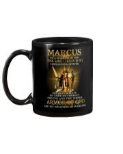 Marcus - Warrior of God M004 Mug back