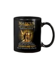 Marcus - Warrior of God M004 Mug front