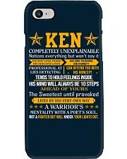 Ken - Completely Unexplainable Phone Case thumbnail