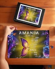 Amanda - I am the storm P005 250 Piece Puzzle (horizontal) aos-jigsaw-puzzle-250-pieces-horizontal-lifestyle-front-03