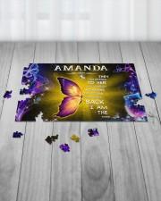 Amanda - I am the storm P005 250 Piece Puzzle (horizontal) aos-jigsaw-puzzle-250-pieces-horizontal-lifestyle-front-21