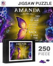 Amanda - I am the storm P005 250 Piece Puzzle (horizontal) aos-jigsaw-puzzle-250-pieces-horizontal-lifestyle-front-25