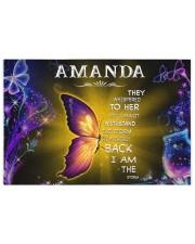 Amanda - I am the storm P005 250 Piece Puzzle (horizontal) front