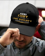 COBY - THING YOU WOULDNT UNDERSTAND Embroidered Hat garment-embroidery-hat-lifestyle-01