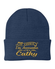 Cathy - Im awesome Knit Beanie tile