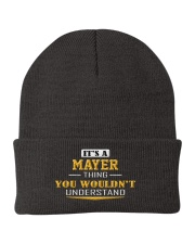 MAYER - Thing You Wouldnt Understand Knit Beanie thumbnail