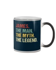 THE LEGEND - James Color Changing Mug thumbnail
