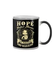 PRINCESS AND WARRIOR - Hope Color Changing Mug thumbnail