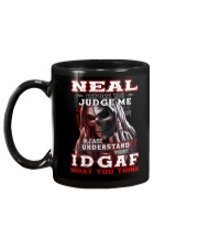 Neal - IDGAF WHAT YOU THINK M003 Mug back