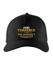 TERRENCE - THING YOU WOULDNT UNDERSTAND Embroidered Hat front