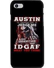 Austin - IDGAF WHAT YOU THINK M003 Phone Case thumbnail