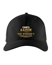 AARON - Thing You Wouldn't Understand Embroidered Hat front